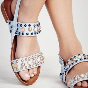 Free people del ray sandals
